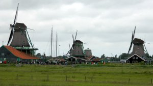 Windmills at Zaanse Schaans