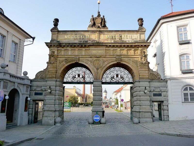 Pilsner Urquell Brewery Czech Republic
